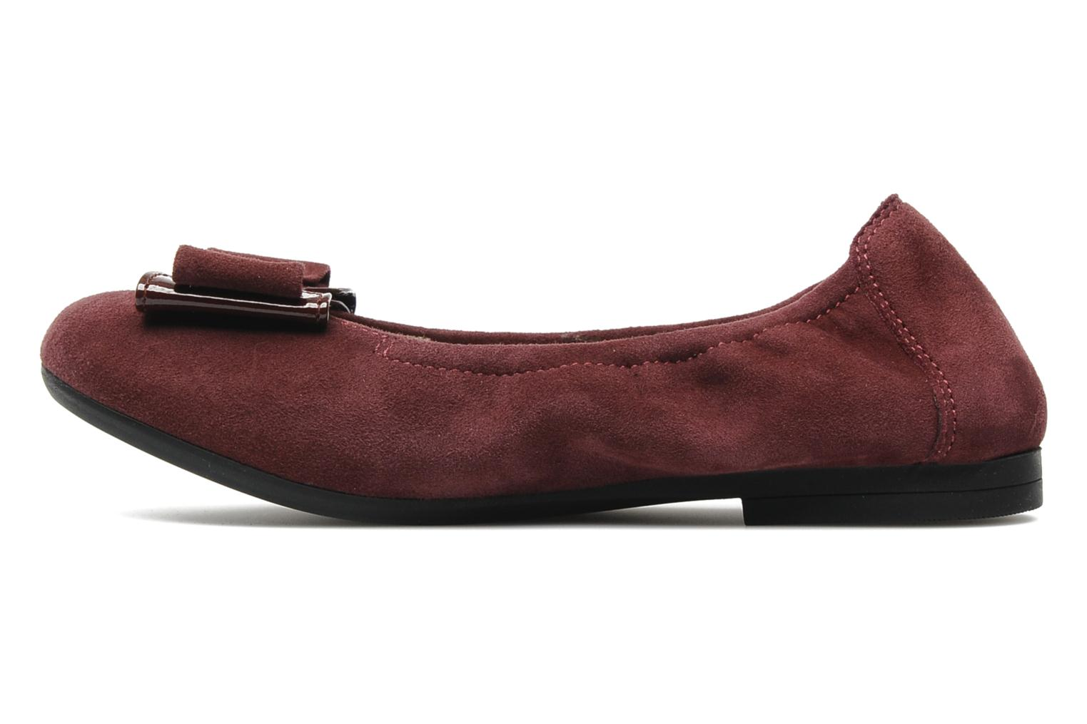 Ballerines Unisa Claudio Bordeaux vue face